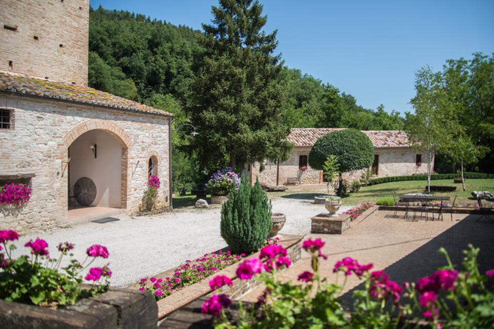 Agriturismo Antico Mulino dei Sibillini - Montefortino (FM) - L'Esterno